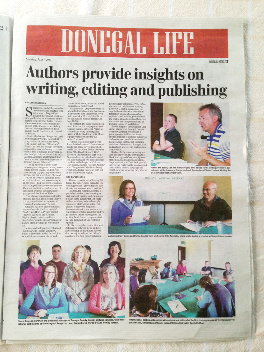 Donegal News after event