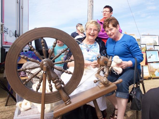 Rose Sweeney, Maureen O'Sullivan, Cnoc Fola Festival Donegal