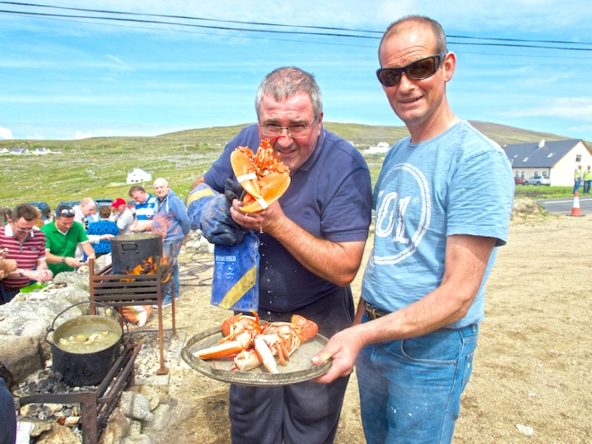 lobster in Donegal, Bloody Foreland Donegal