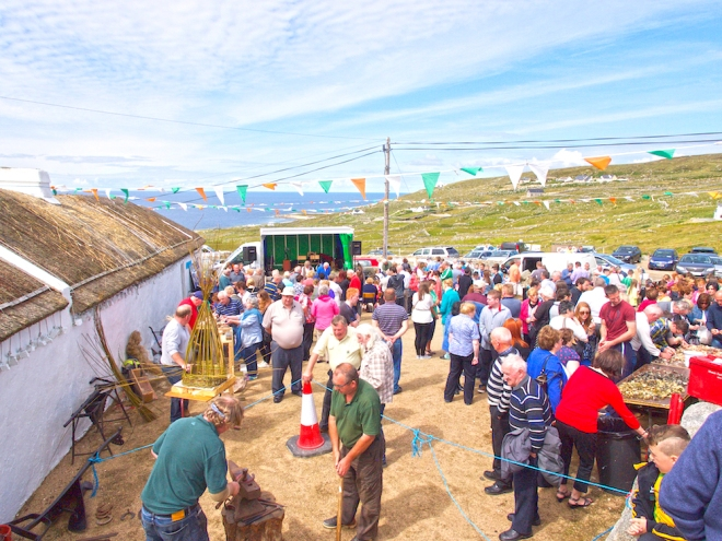 Cnoc Fola festival Donegal, celtic traditions
