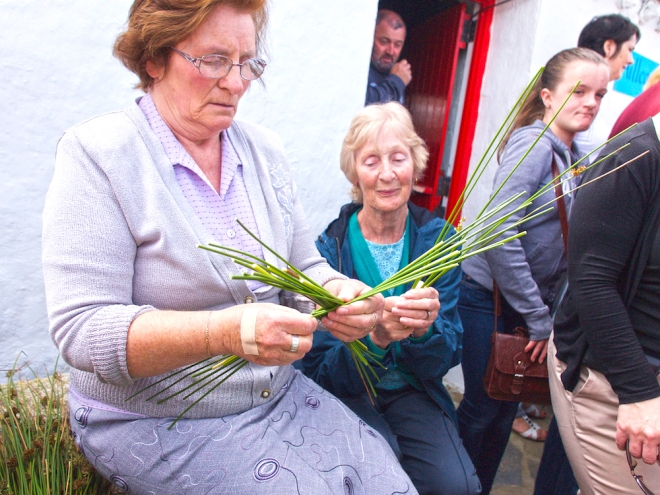Brigid cross, crafts in Donegal