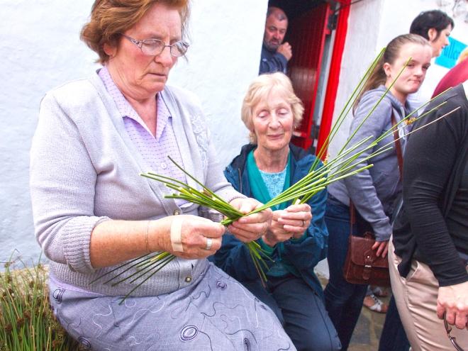 Brigid cross, crafts in Donegal