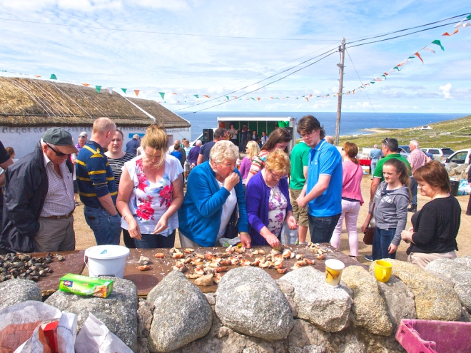seafood wild atlantic way, Donegal seafood