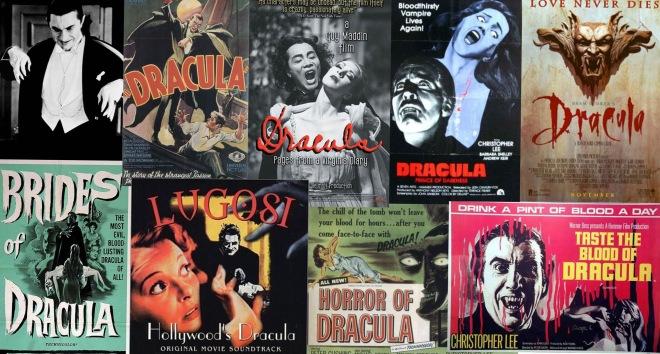 Holiwood vampire movies, Dracula movies