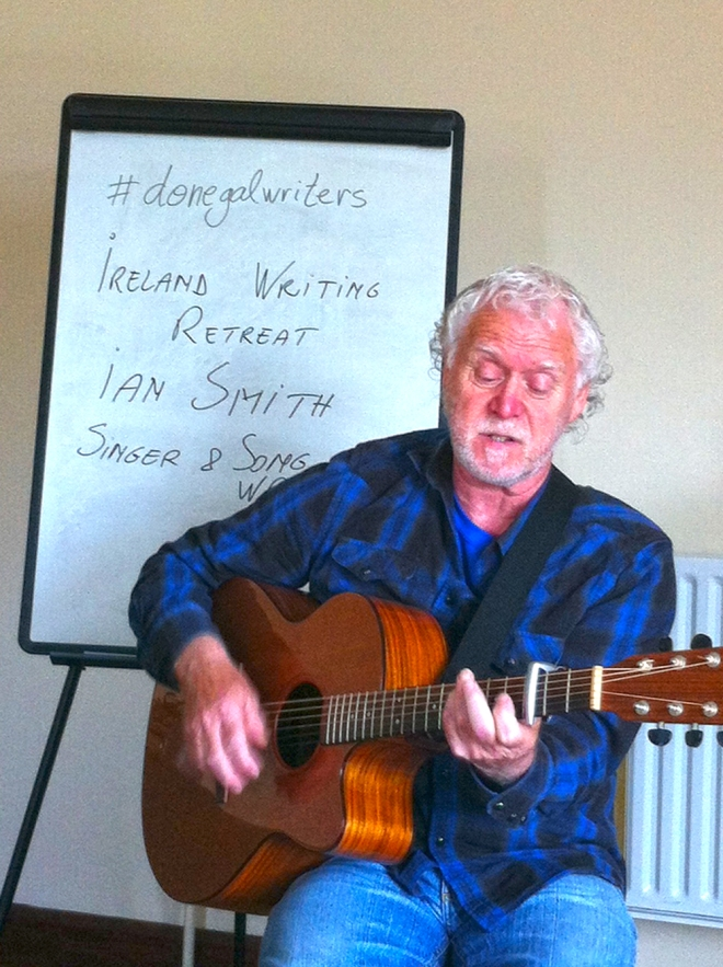 singer songwriter Ian Smith, Donegal musicians, St Patrick's Day musicians