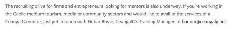 CeangalG Donegal, INTERREG IVA