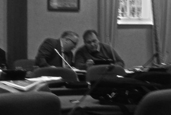 Donegal councillors, county council meeting