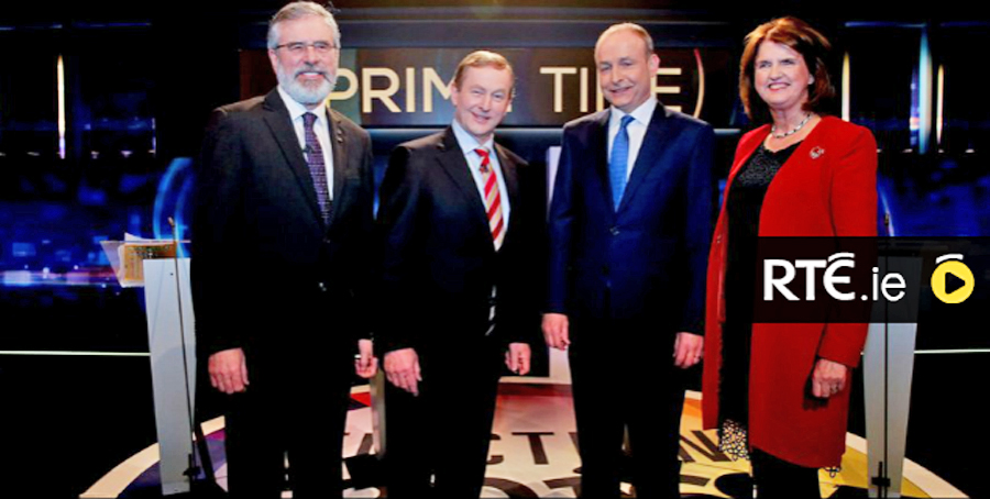 leaders debate Ireland, national elections Ireland