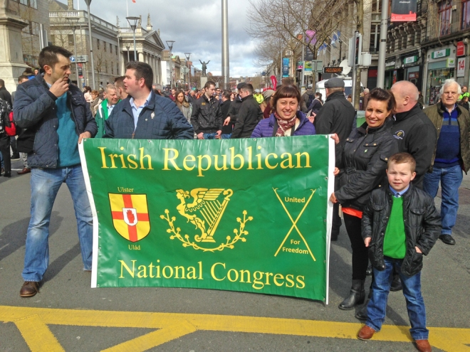 Columbia Hillen, Sinn Fein, Easter Rising Commemorations