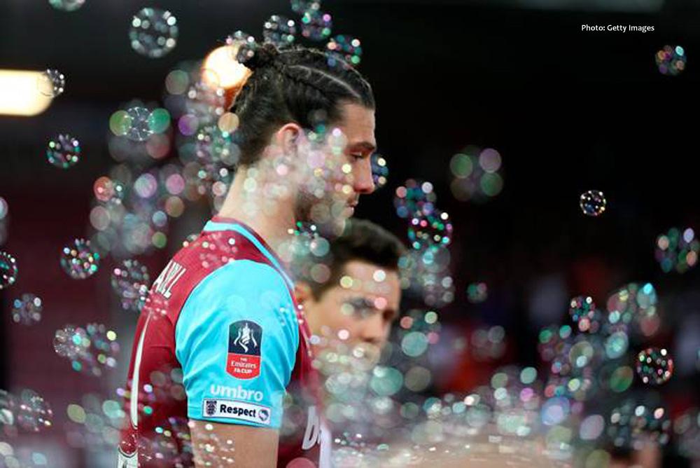 Blowing bubbles at West Ham