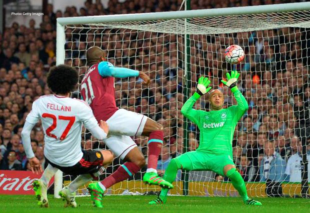 Manchester United winns agains West Ham