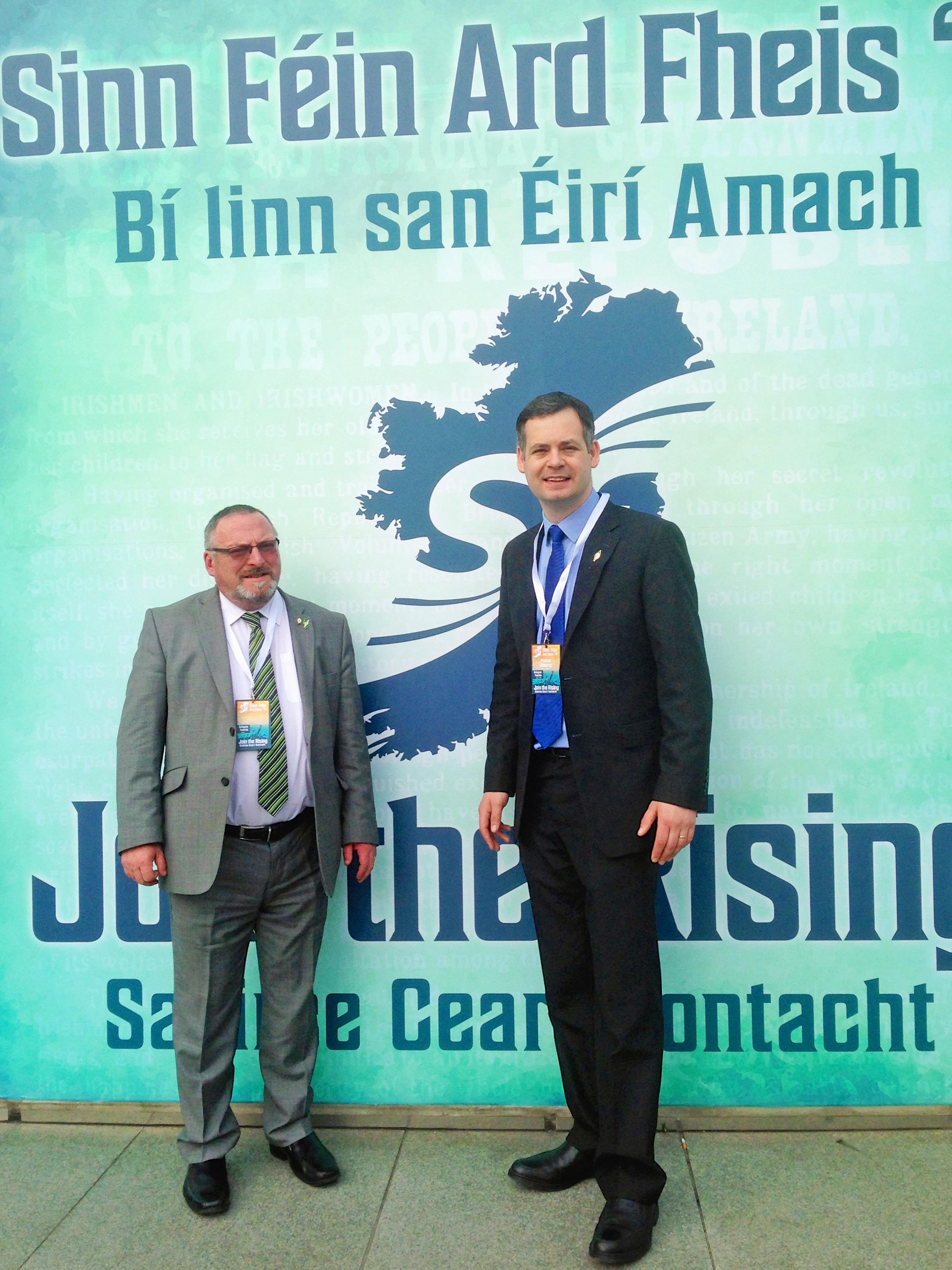 John Sheamais Ó'Fearraigh, Sinn Fein Donegal