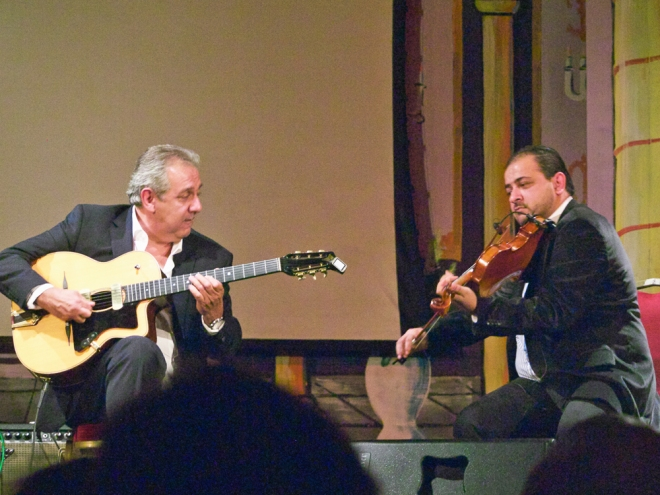 Romane guitarist, Rudolf Bado manouche
