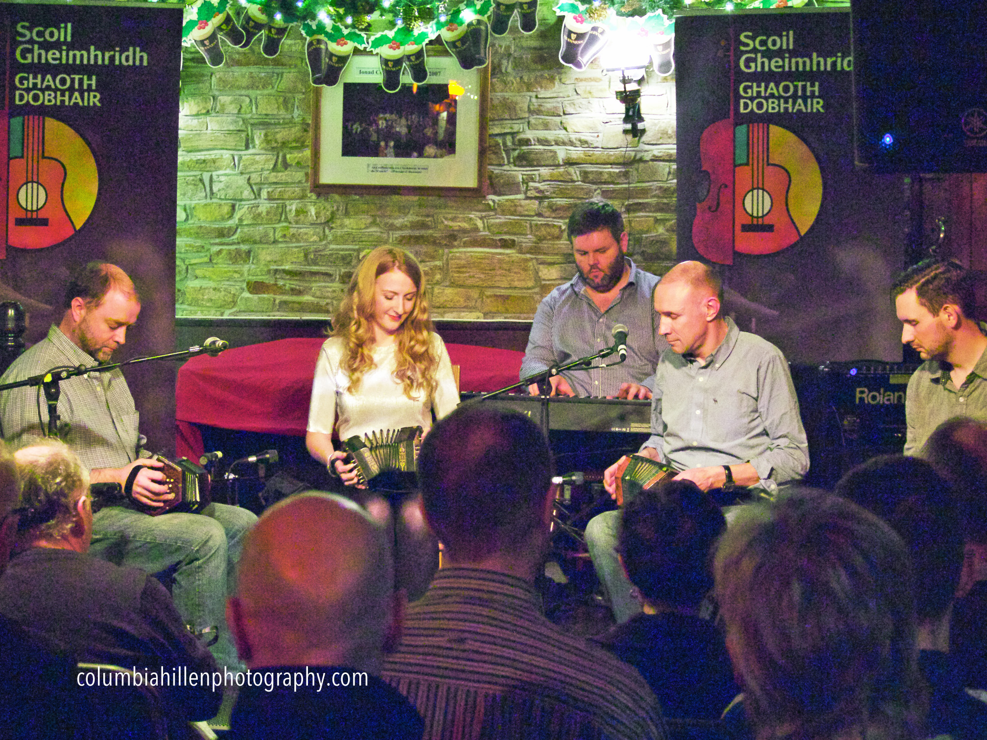 Irish Concertina Ensemble, Scoil Gheimhridh