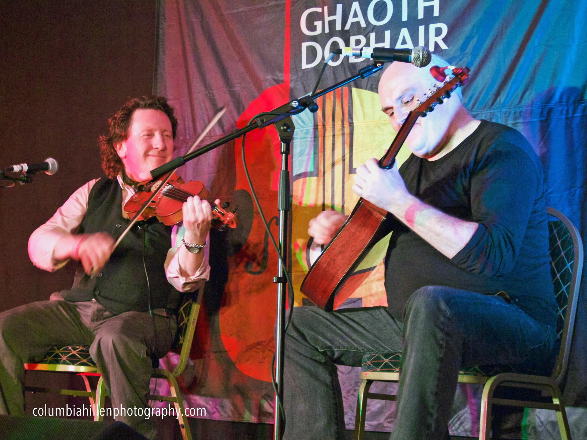 Frankie Gavin, Brendan O'Regan, Donegal Irish music