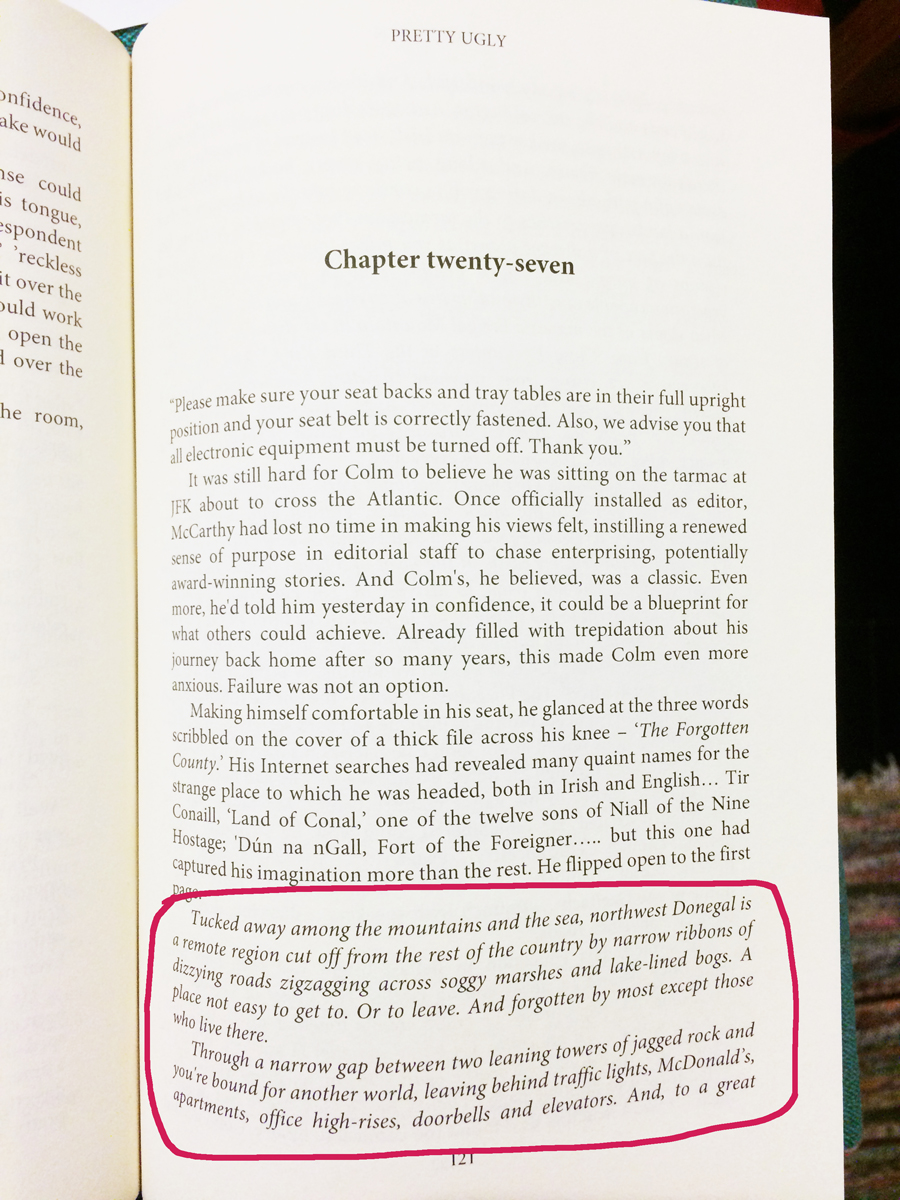 Pretty Ugly novel, Fodor's top experiences