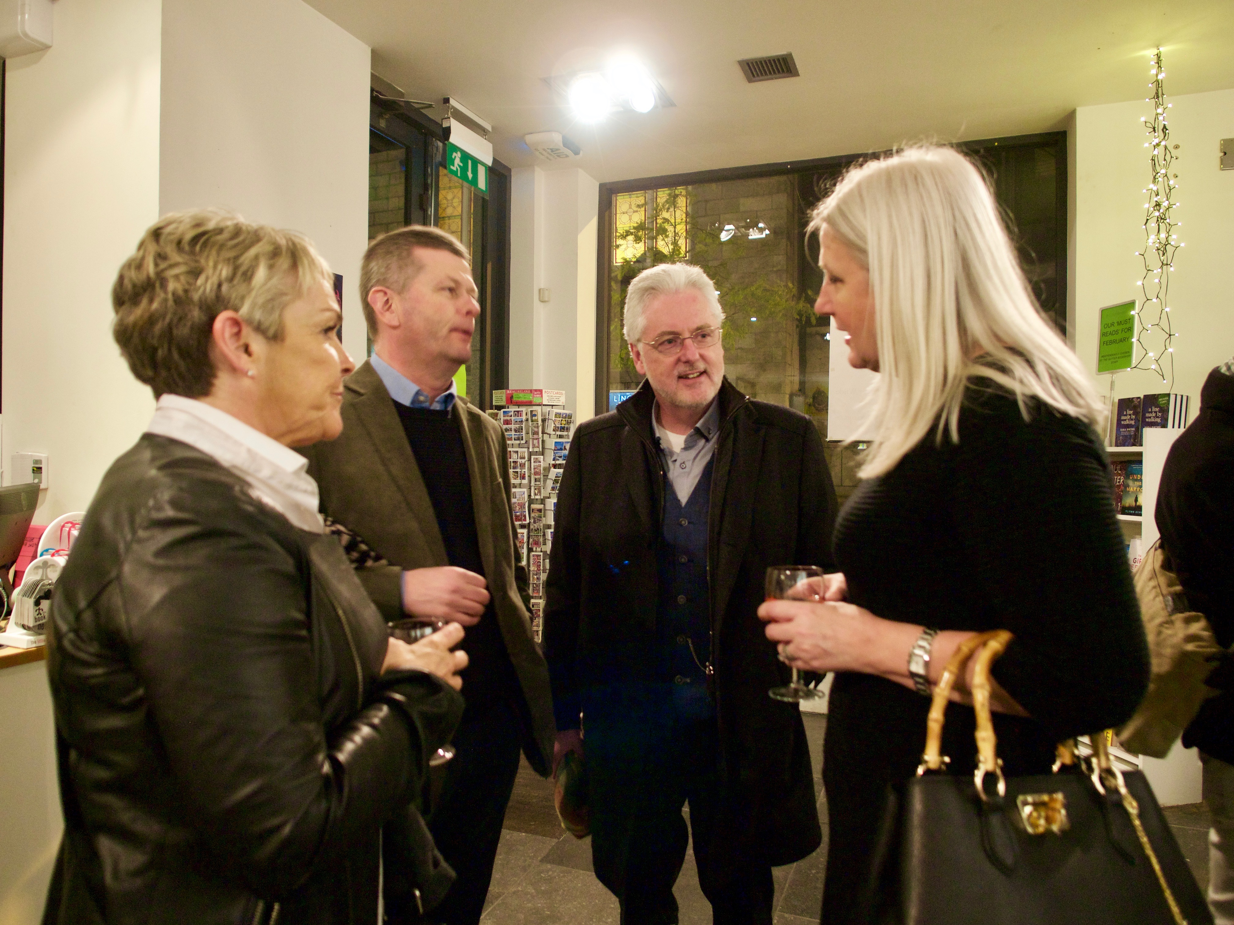 Sean Hillen author book launch, Pretty Ugly book launch Dublin