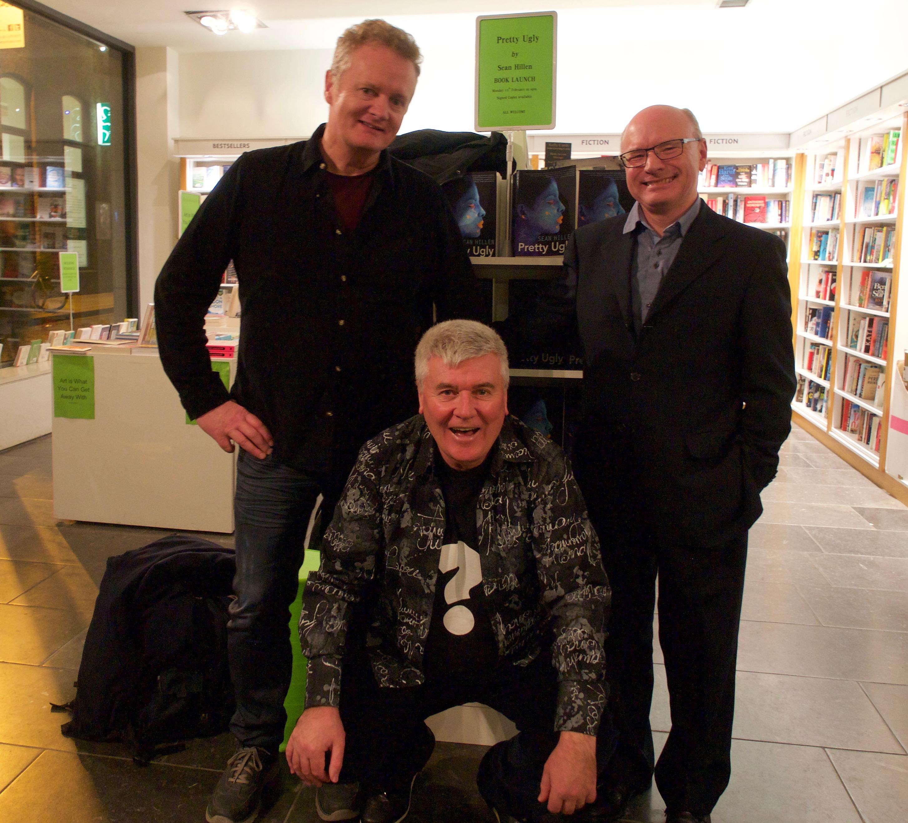 Pat Gallagher, Tony Canavan, Sean Hillen