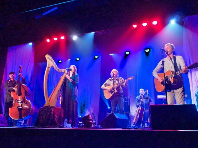 Clannad live in concert, Moya Brennan in concert, Donegal musicians