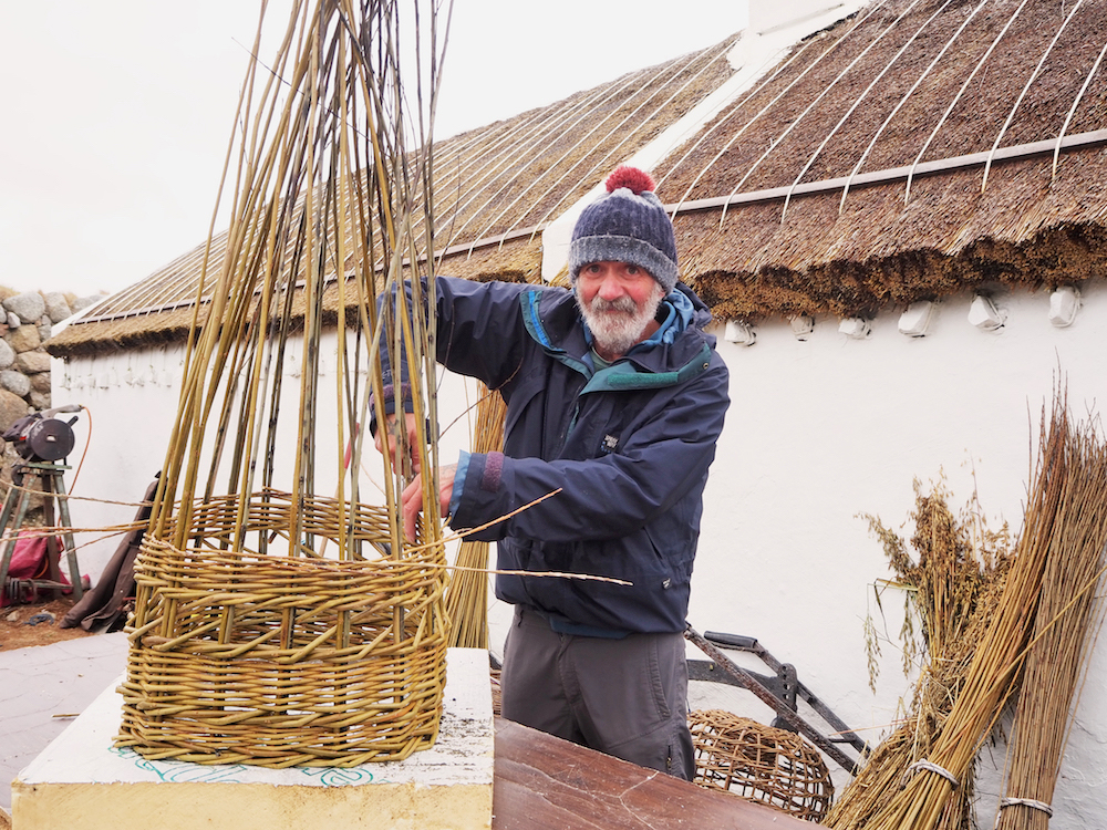 Ownie Diver painter donegal, Gaeltacht Tourism Officer