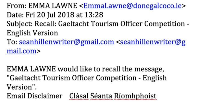 donegal county council, jobs at donegal county council,