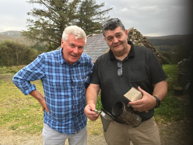sean hillen journalist, donegal honey, beekeepers donegal, donegal beekeepers,