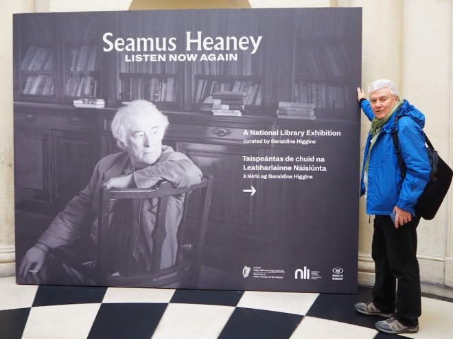 Seamus Heaney homeplace events, sean hillen author, seamus heaney bank of ireland