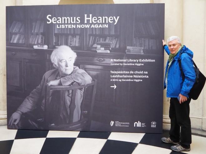 Seamus Heaney homeplace events, sean hillen author, seamus heaney bank of ireland