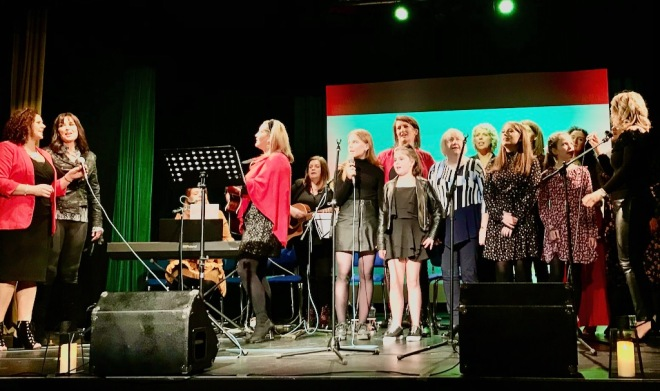 wild atlantic women concert, live music donegal, donegal women singers