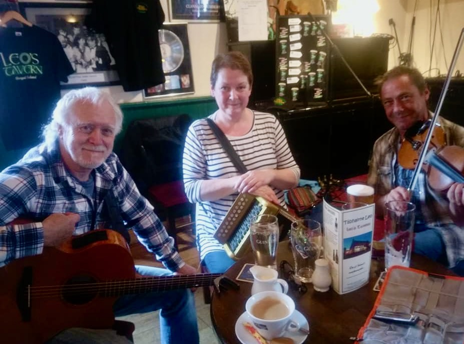 Donna Harkin, Ian Smith, Stephen Campbell, donegal musicians